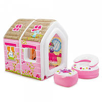 """Детский Игровой центр-домик Intex """"Princess Play House"""" 48635"""