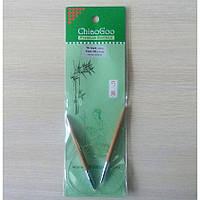 Спицы ChiaoGoo круговые бамбуковые 40см 6мм