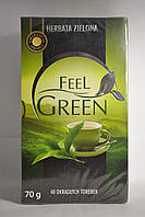 Чай зеленый Feel Green, 40 пак