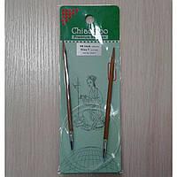 Спицы ChiaoGoo круговые бамбуковые 100см 4,5мм