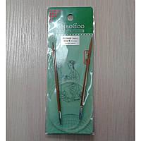 Спицы ChiaoGoo круговые бамбуковые 100см 4мм