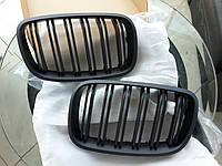 Решетка радиатора ноздри BMW X5 E70 M стиль черный мат