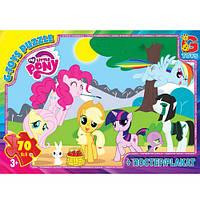 "Пазлы из серии ""My little Pony"" (Моя маленькая пони), 70 эл. MLP002 ТМ ""G-Toys"""