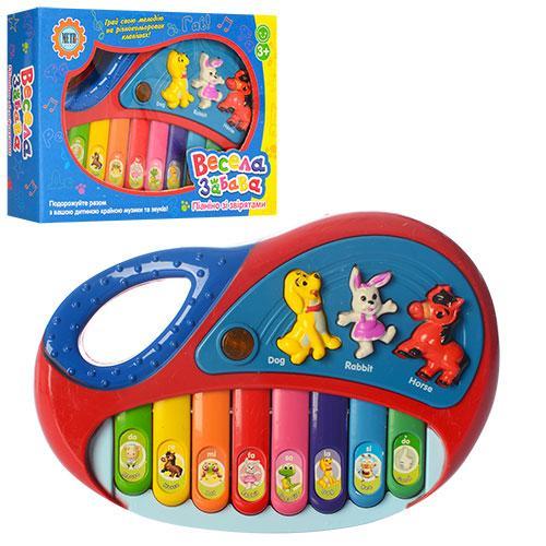 """Пианино 2216 A 13 """"Весела Забава"""", 18х12х3,5 см (Y)"""