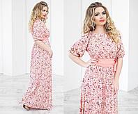 Шикарное длинное платье для женщин