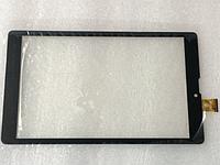 Оригинальный тачскрин / сенсор (сенсорное стекло) для Nomi Libra C08000 (черный цвет, самоклейка)