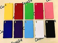 Пластиковый чехол для Sony Xperia M4 Aqua (10 цветов)