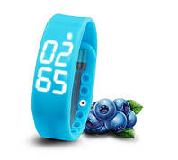 Фитнес-браслет W2 blue Новинка! Счетчик шагов, калорий, 3d датчик движения