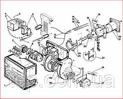 Запасні частини до пальника Riello 40 FS 15D