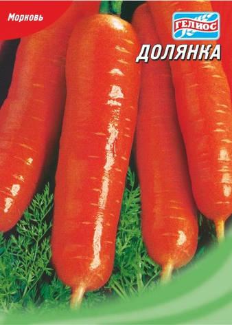 Семена моркови Долянка 20 г, фото 2