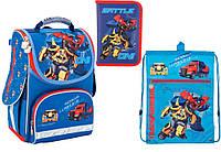"""Комплект школьный. Рюкзак """"Transformers"""" TF17-500S, Пенал и Сумка ТМ  KITE"""