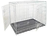 Croci Клетка для собак складная, 2 входа, цинк  116*77*86см (C2058447)