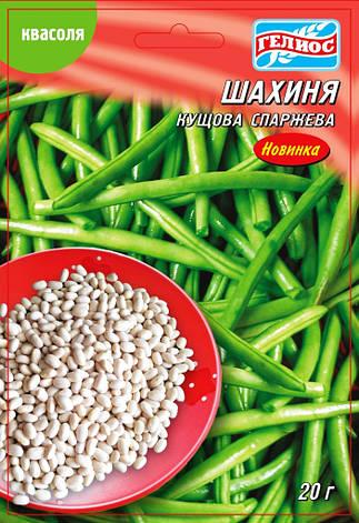 Семена фасоли кустовой спаржевой Шахиня 20 г, фото 2