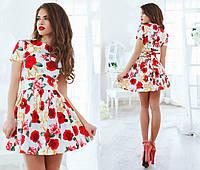 Модное молодежное летнее платье