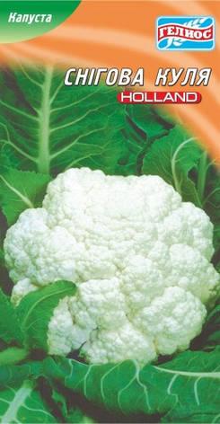 Семена капусты цветной Снежный шар  10 г, фото 2