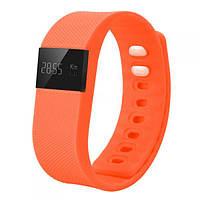 Защищенный Фитнес часы-браслет TW64 оранжевый Хит !