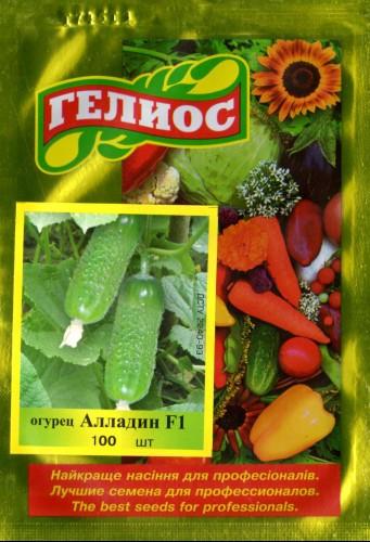 Семена огурцов пчелоопыляемых Алладин F1 100 шт.