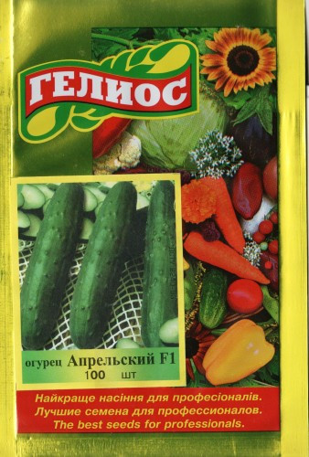 Семена огурцов  партенокарпических Апрельский F1 100 шт.