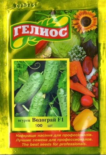 Семена огурцов пчелоопыляемых Водограй F1 100 шт.