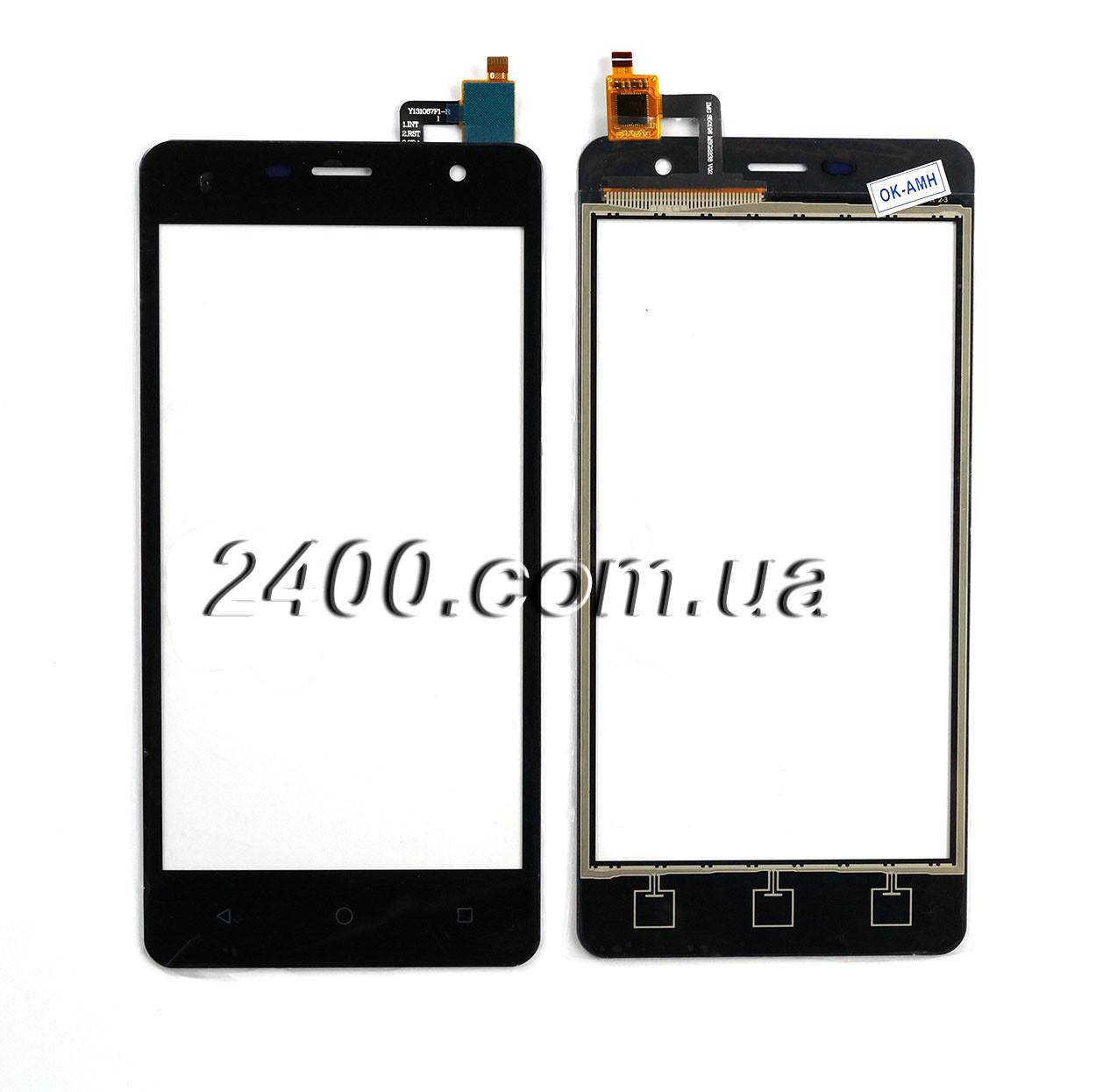 Тачскрін (сенсор) Nomi i5010 телефону чорний (black)