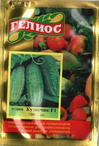 Семена огурцов  партенокарпических Кузнечик F1 100 шт., фото 2