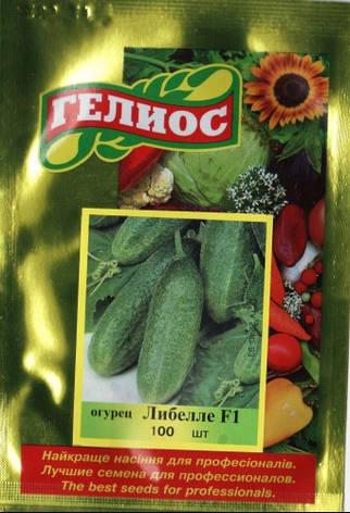 Семена огурцов пчелоопыляемых Либелле F1 100 шт., фото 2