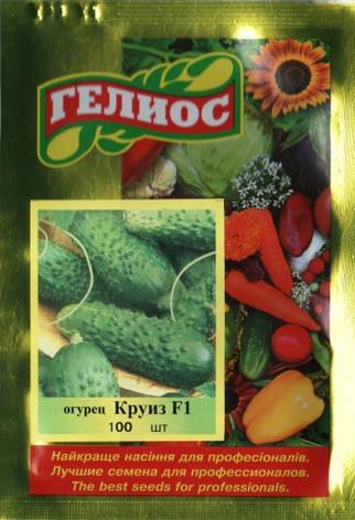 Семена огурцов пчелоопыляемых Круиз F1 100 шт., фото 2