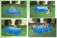 Каркасный бассейн сборный Small Frame Intex 28270 (58983) (220*150*60 см) , фото 1