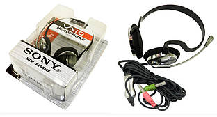 Наушники гарнитура Sony MDR E188V компьютерные игровые