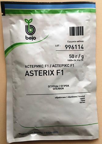 Семена огурцов пчелоопыляемых Астерикс F1 50 г, фото 2