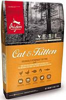 Orijen cat & kitten 1,8 кг беззерновой корм для котів і кошенят з м'ясом курчат