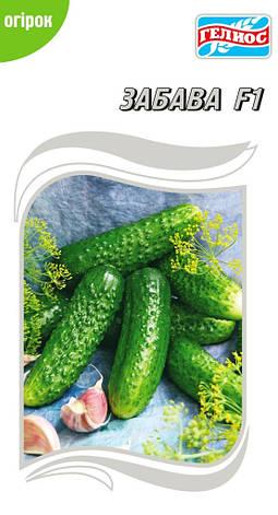 Семена огурцов пчелоопыляемых Забава F1 20 шт., фото 2