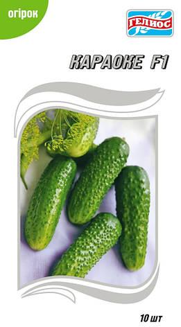Семена огурцов  партенокарпических Караоке F1 10 шт., фото 2