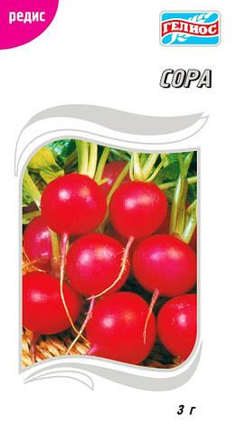 Семена редиса Сора (Гол.) 3 г, фото 2