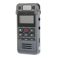 Диктофон цифровой SK999 стерео, mp3 плеер, металлический, память 8гб