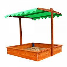 """Детская деревянная песочница """"Песочница 27"""", фото 2"""