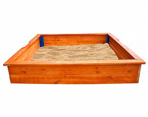 """Детская деревянная песочница """"Песочница 26"""", фото 2"""