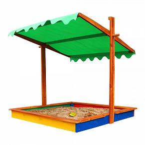 """Детская деревянная песочница """"Песочница 24"""", фото 2"""