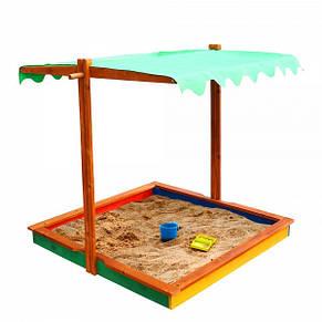"""Детская деревянная песочница """"Песочница 24"""", фото 3"""