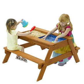 """Детская деревянная песочница """"Песочница 2"""", фото 2"""
