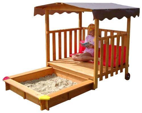 """Детская деревянная песочница - трансформер """"Песочница 19"""""""