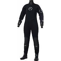 Женский сухой гидрокостюм неопрен Bare XCS2 Pro Dry, чёрный