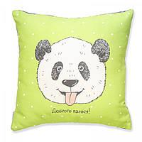 """Подушка """"Панда"""" Доброго ранку"""