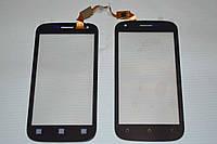 Оригинальный тачскрин / сенсор (сенсорное стекло) для Fly IQ443 Trend (черный цвет, самоклейка)