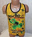 "Борцовка на мальчика ""Ninjago"" 5,6,7,8 лет 100 % хлопок, фото 2"