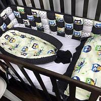 Комплект в детскую кроватку + кокон