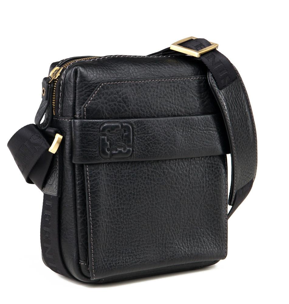 Мужская сумка через плечо Tifenis TF69856-3A черная