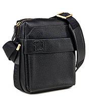 Мужская сумка через плечо Tifenis TF69856-3A черная, фото 1