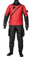 Женский сухой триламинатный костюм Bare X-Mission, красный