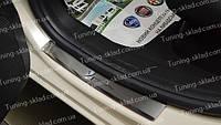 Накладки на пороги Lancia Ypsilon (накладки порогов Лянча Ипсилон)